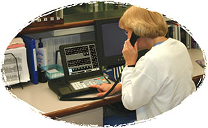 Tek-CARE400 nurse call system master station