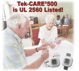 Now UL 2560 Listed - Tek-CARE500 Wireless Nurse Call System
