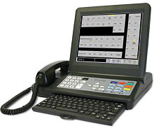 NC401TS Touchscreen Master Station for the Tek-CARE400 Nurse Call System