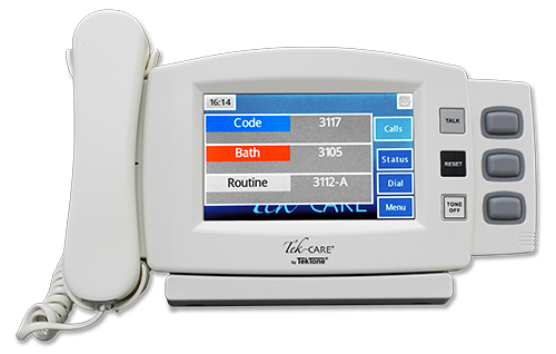 TekTone Releases Tek-CARE160 Audio/Visual Nurse Call System